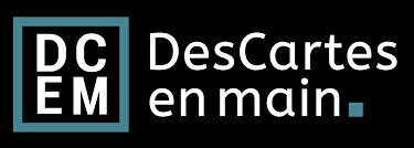 LOGO DESCARTES en main
